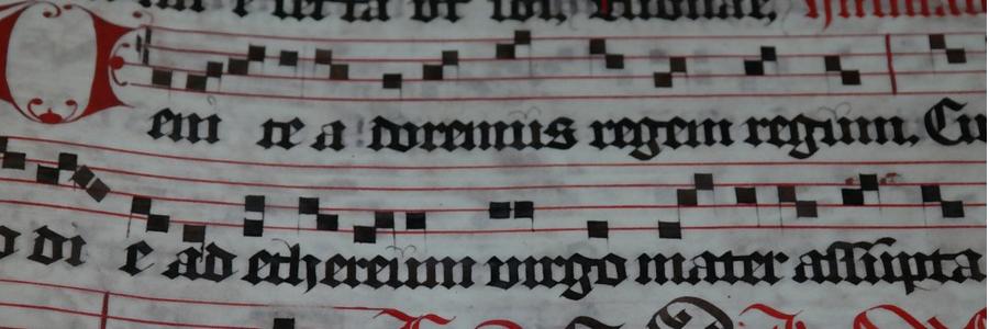 Cursus Gregoriaans voor beginners A